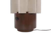 Mid-Century Accordion Style Floor Lamp | Chairish