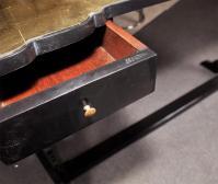 Maison Jansen Glass Top Console Table | Chairish