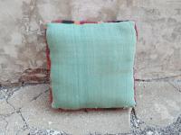 Vintage Striped Moroccan Floor Pillow | Chairish