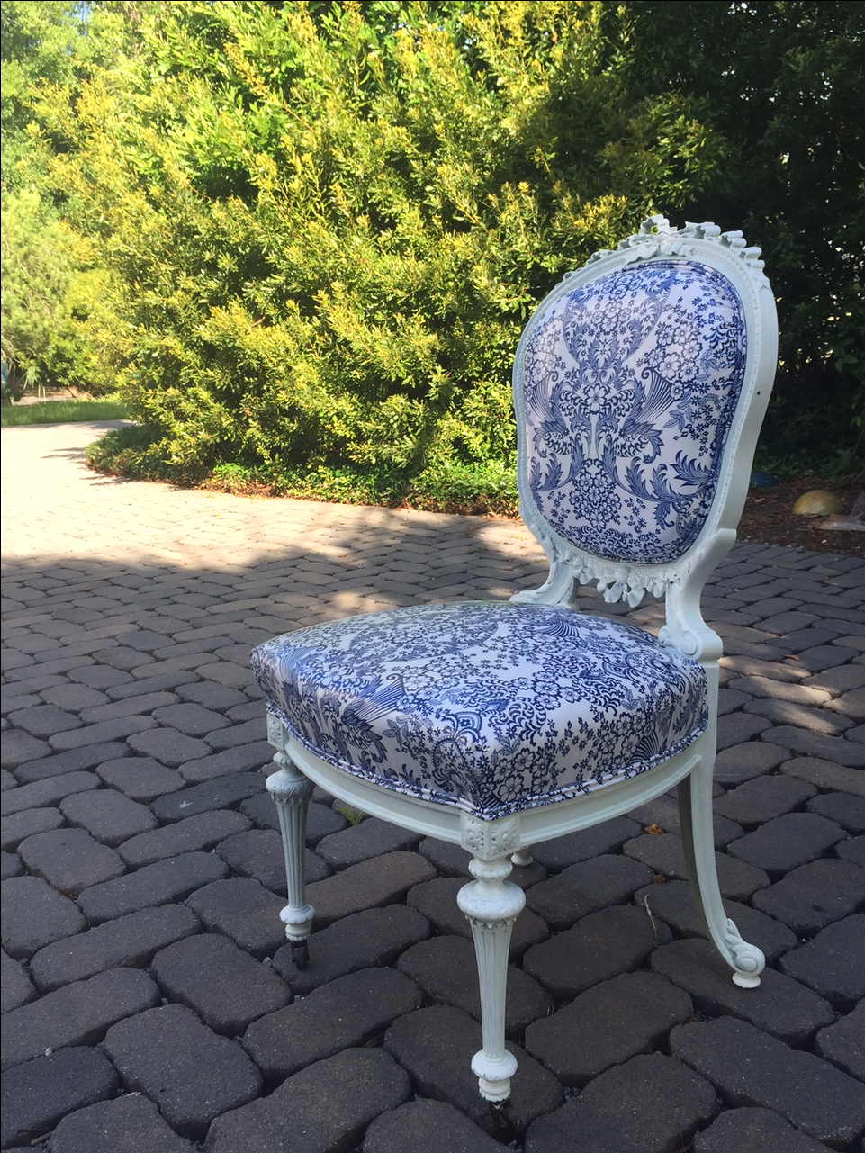 Blue Accent Chairs Sale