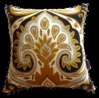 Vintage Cynthia Rowley Wool Crewel Pillow | Chairish