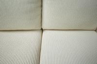 Milo Baughman Inspired 3-Piece White Chenille Modernist ...