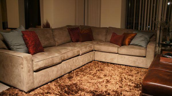sectional sofa under 2000 pottery barn comfort square reviews mitchell gold + bob williams | chairish