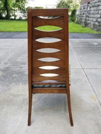 Mid-Century Modern Kent Coffey Perspecta Style Ladder Back ...