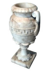 Alabaster Urn Table Lamp | Chairish
