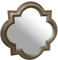 Quatrefoil Mirror | Chairish