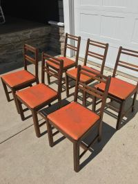 Vintage Contemporary Murphy Chairs - Set of 6   Chairish