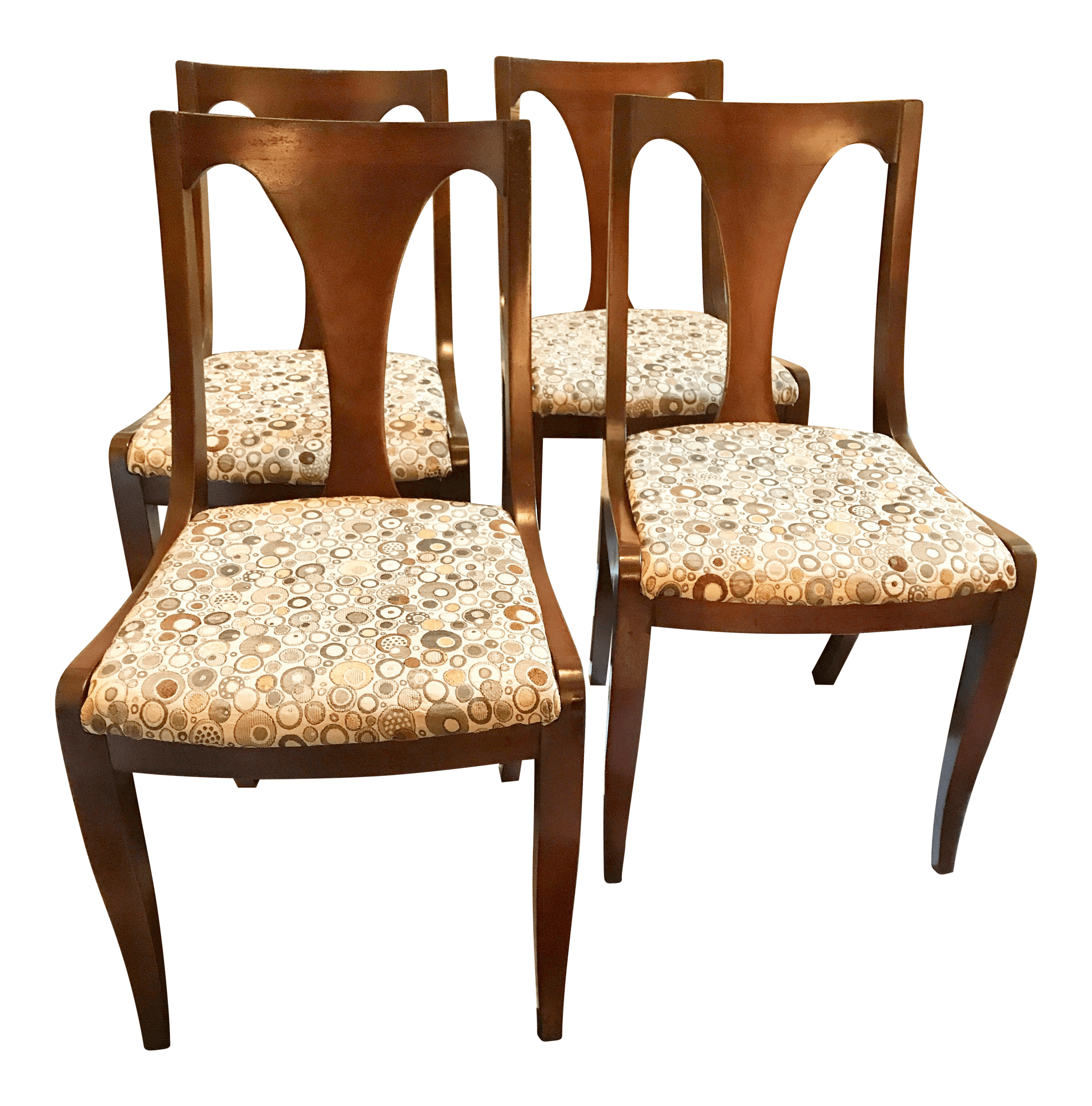 Hickory Chair Company Dining Chairs  Set of 4  Chairish