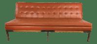 Mid-Century Modern Chrome Legs Sofa | Chairish