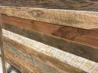 Reclaimed Barn Wood Queen Headboard   Chairish