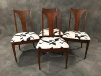 Broyhill Mid-Century Dining Chairs - Set of 4 | Chairish