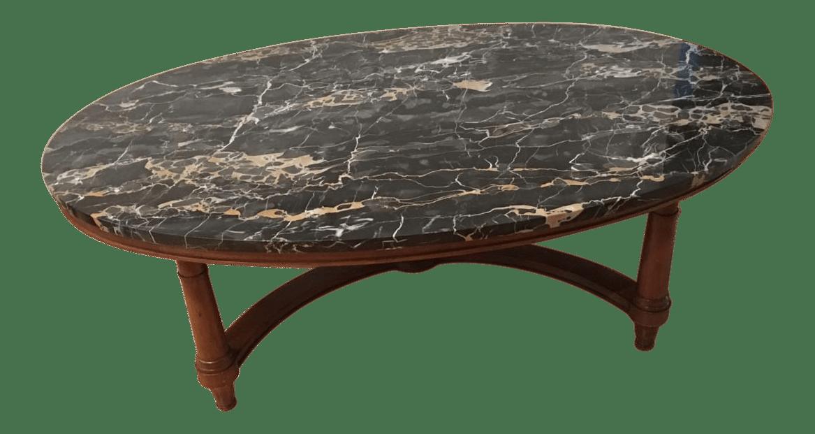 Marmi DI Carrara Marble Oval