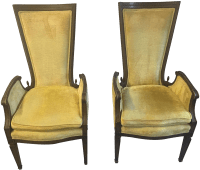 Vintage & Used Yellow Accent Chairs | Chairish