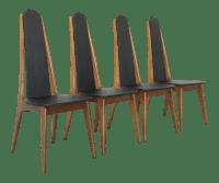 Mid-Century Modern Atomic Dining Chairs - Set of 4 | Chairish