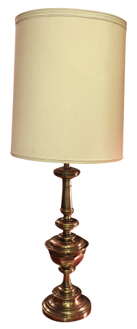 Vintage Stiffel Brass Table Lamp | Chairish