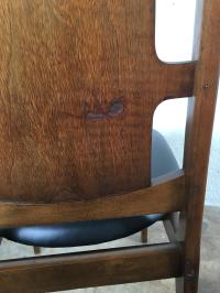 Mid-Century High Back Dining Chairs - Set of 6 | Chairish