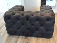 Modern Restoration Hardware Tufted Leather Collection ...