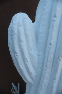 Vintage Plaster Cactus Table Lamp | Chairish