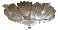 Barovier and Toso Murano Glass Chandelier, Ceiling Mount ...