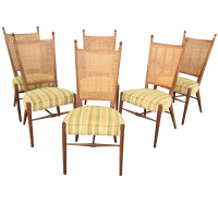 Drexel Mid Century Dining Chairs - Set of 6 | Chairish