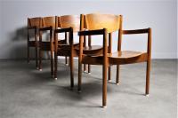 Jens Risom Mid-Century Modern Chairs - Set of 4 | Chairish