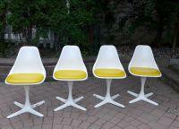 Mid-Century Tulip Chairs by Burke | Chairish