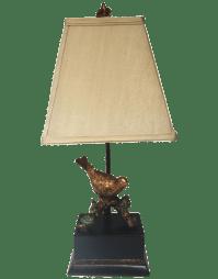Bird on a Branch Lamp | Chairish