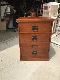 Pottery Barn Bedford File Cabinet | Chairish