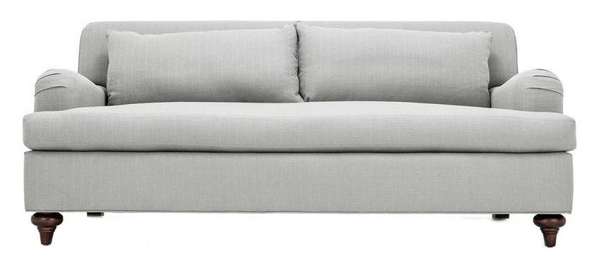 most durable upholstery fabric for sofa sleeper houston craigslist clad home classic english roll arm | chairish