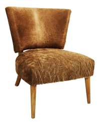 Vintage & Used Brown Accent Chairs