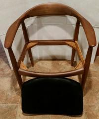 Hans Wegner Mid-Century Modern Teak Accent Chair | Chairish