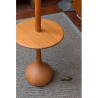 Danish Modern Teak Table Floor Lamp | Chairish