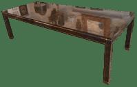 Bernhard Rohne for Mastercraft Burl Dining Table | Chairish
