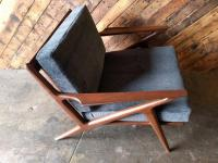 "Selig Danish ""Z"" Chair 