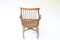 Midcentury Modern Wooden Rocking Chair | Chairish