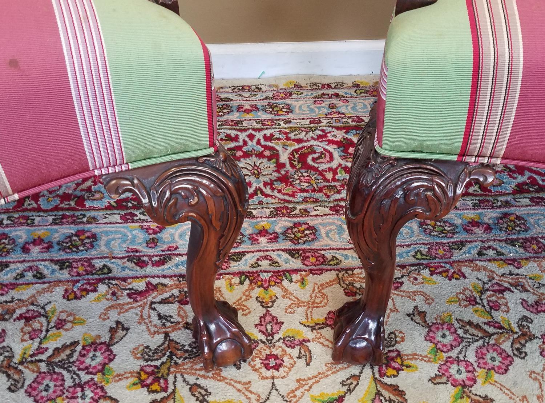 Martha Washington Mahogany Chippendale Style Southwood