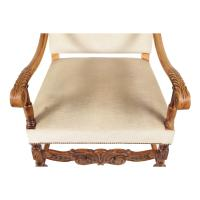 1920s English Baroque Style Armchair | Chairish