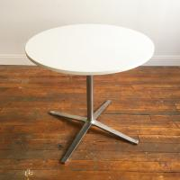 Steelcase Mid-Century Cafe Table | Chairish