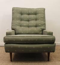 Mid-Century Danish Modern Selig Pencil Leg Lounge Chair ...