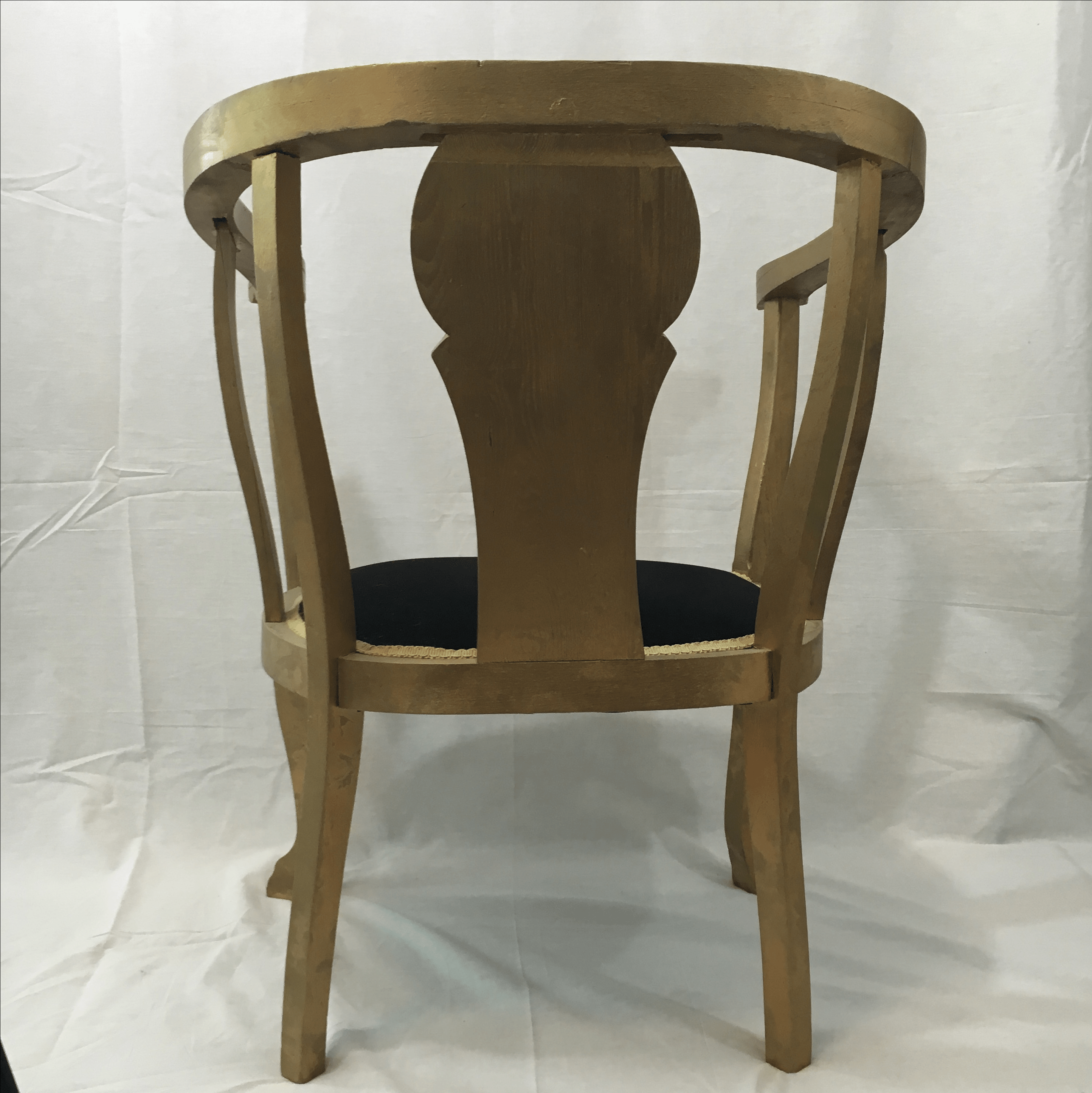 Gold Claw Foot Chair