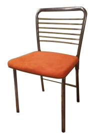 Mid-Century Modern Industrial Metal Folding Chairs | Chairish