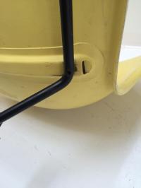 Knoll Bertoia Fiberglass Side Chair Yellow | Chairish