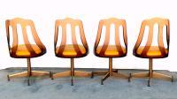 Mid-Century Smokey Lucite Dining Chairs- Set of 4 | Chairish
