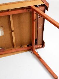 Mid-Century Burrowes Portable Pool Table | Chairish