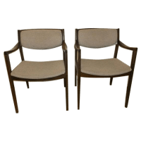Vintage & Used Brown Accent Chairs | Chairish