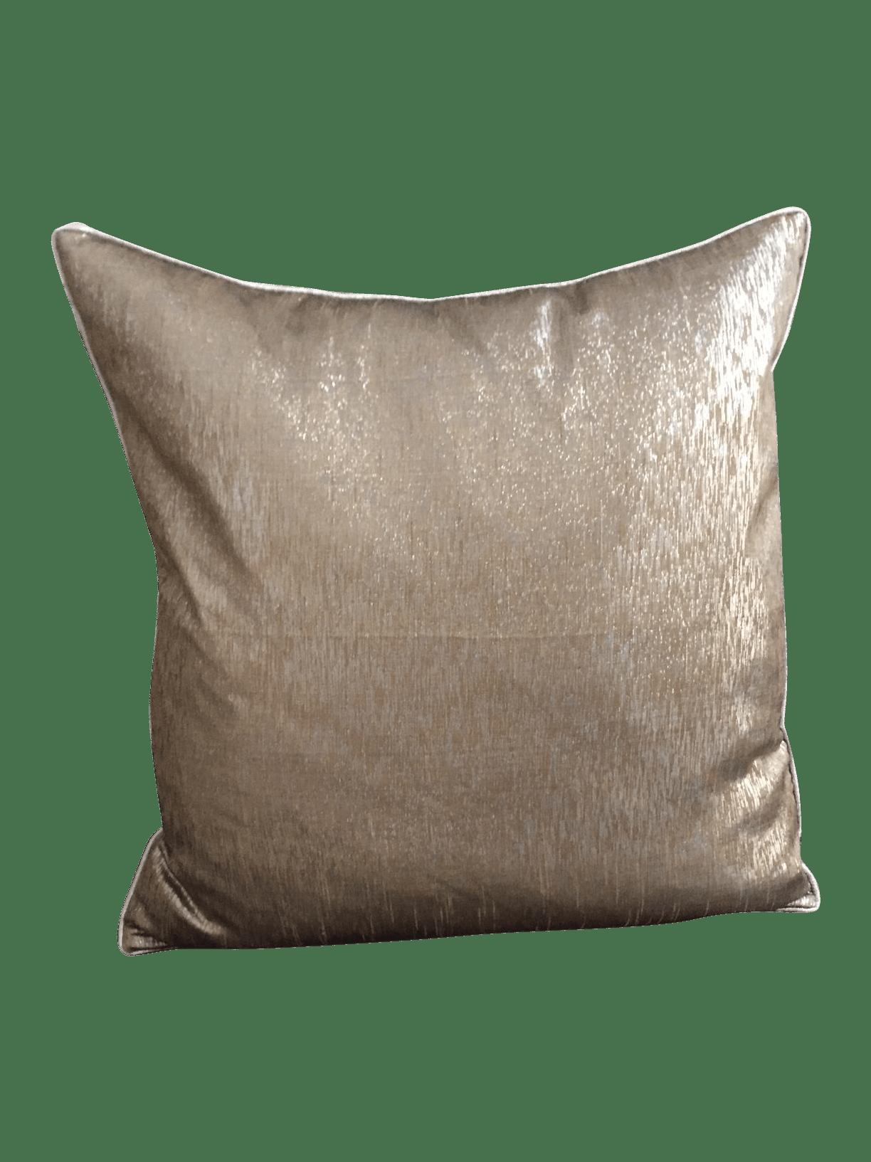 Grey Silver  Gold Decorative Pillow  Chairish