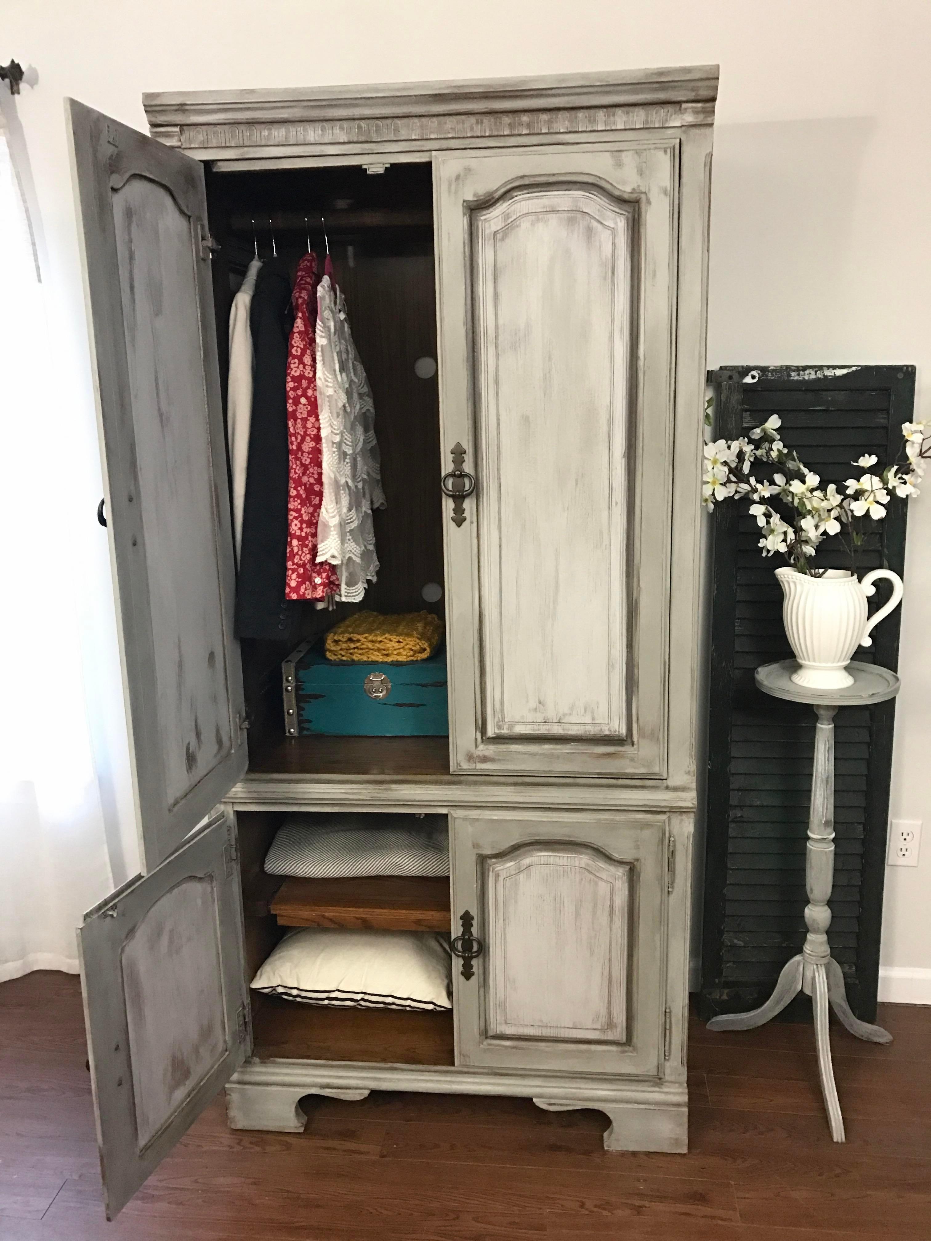 Extra Large Armoire Wardrobe