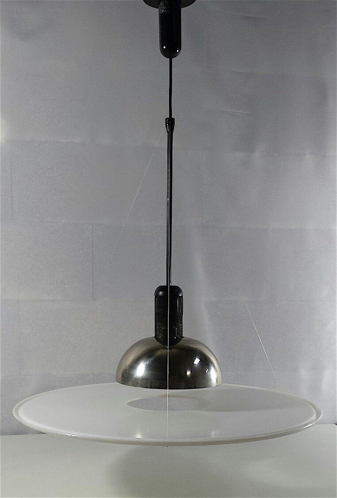 Massimo Vignelli for Flos Italia Frisbi Pendant Light ...