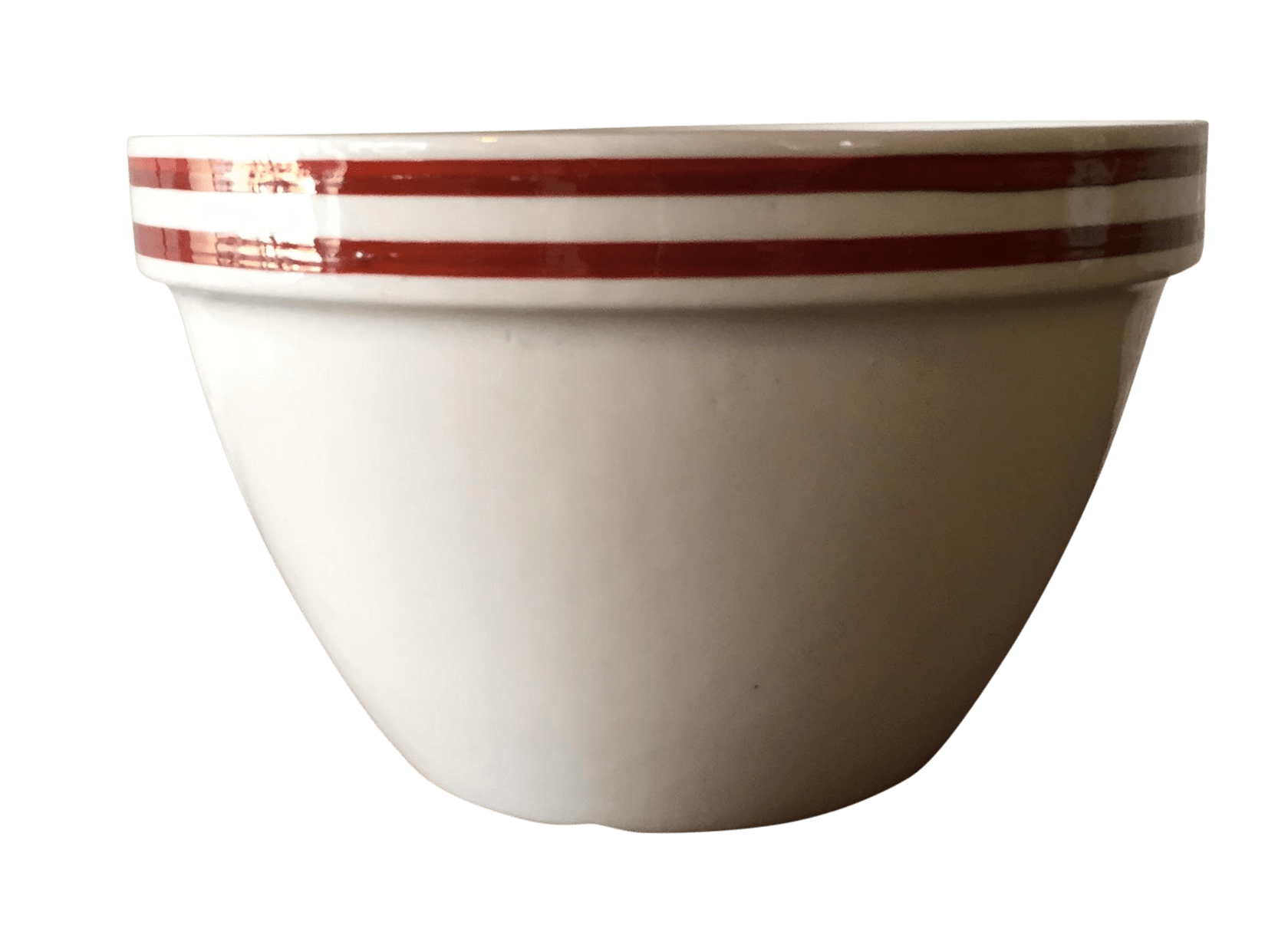 Sienna Striped English Mixing Bowl