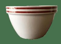 Sienna Striped English Mixing Bowl | Chairish
